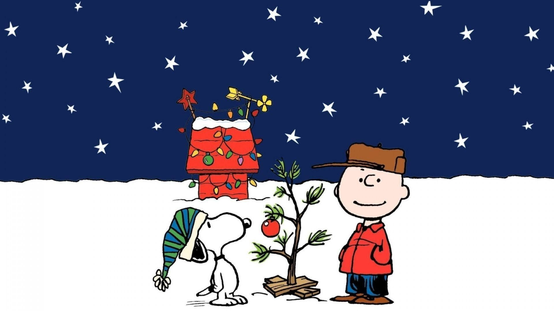 Res 1920x1080 Snoopy Thanksgiving Hd Wallpaper Beraplan Merry Christmas Wallpaper Snoopy Christmas Charlie Brown Christmas Tree