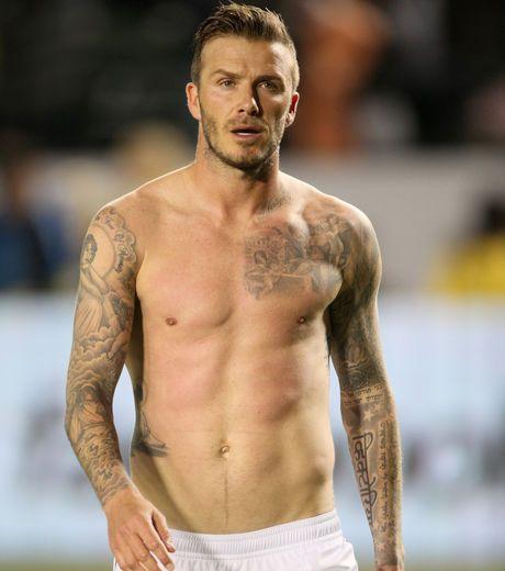 Los Tatuajes De David Beckham En Los Brazos Y El Torso Celebrities