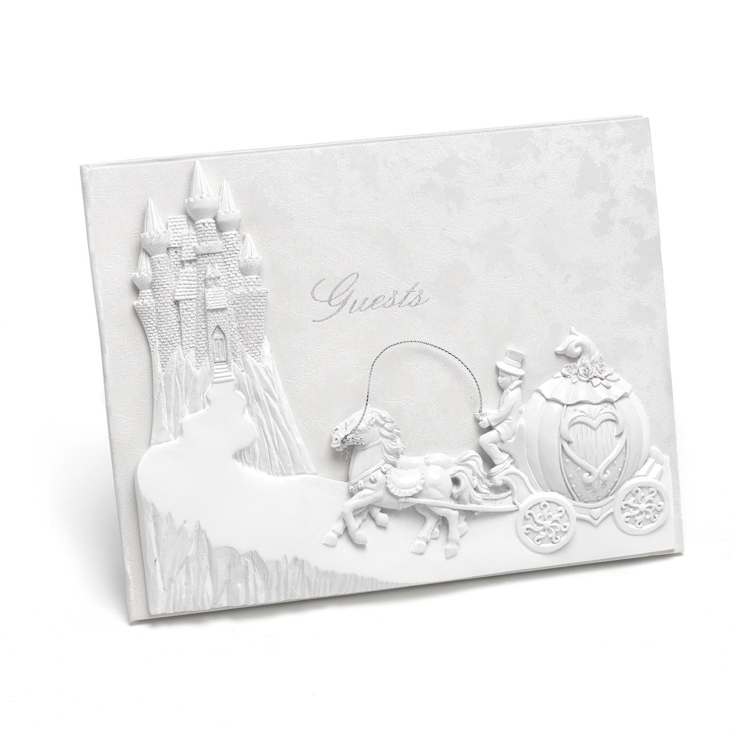 Fairy Tale Castle Wedding Guest Book | Great Guest Books | Pinterest ...