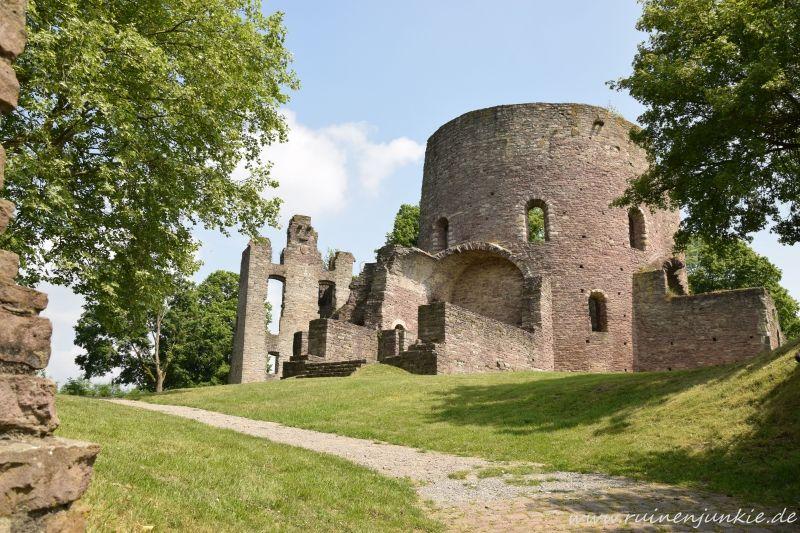 Ruine Krukenburg Ruinen Burg Burganlage