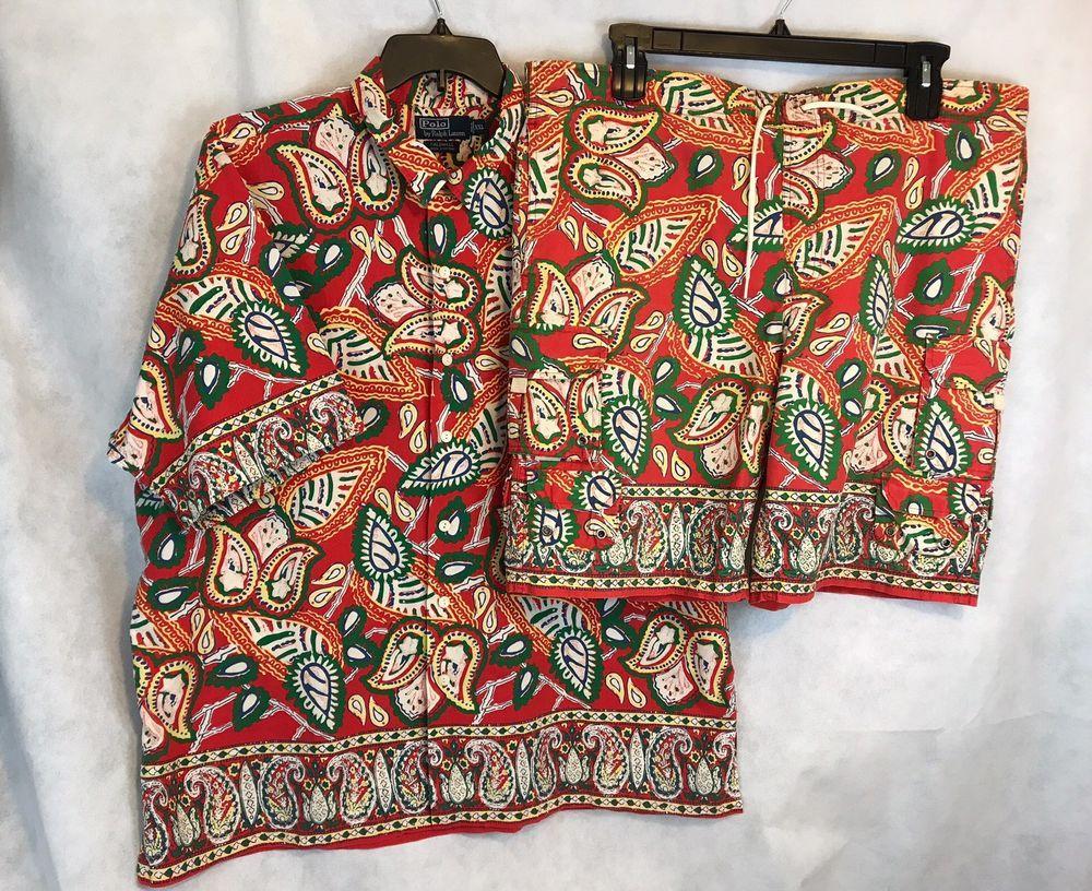 Vintage Plum Hawaiian shirt
