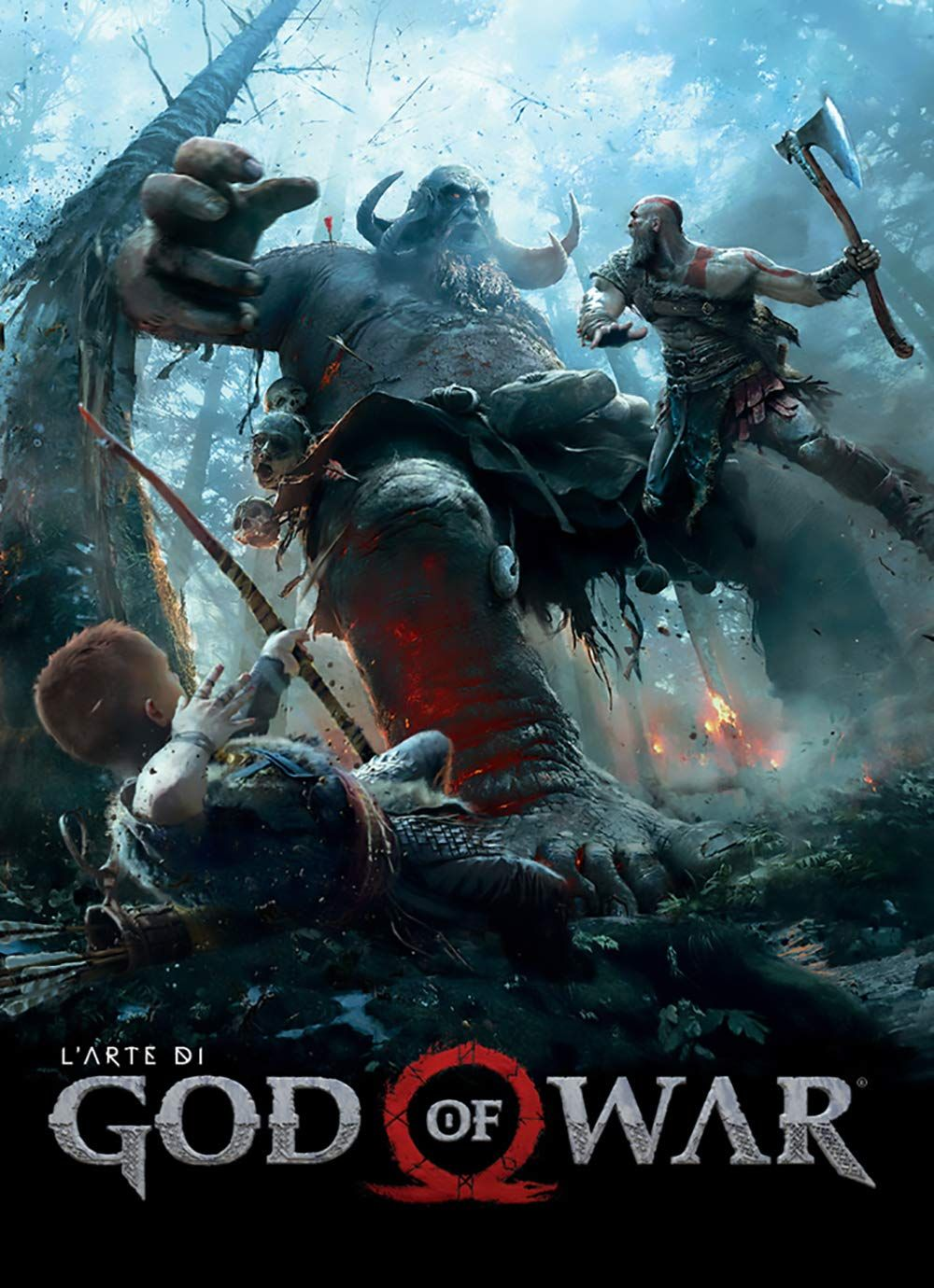 L'arte di God of War di, arte, War, God God of war