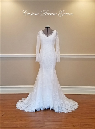 Vintage Style Wedding Dress On Sale Flora By Custom Dream Gowns
