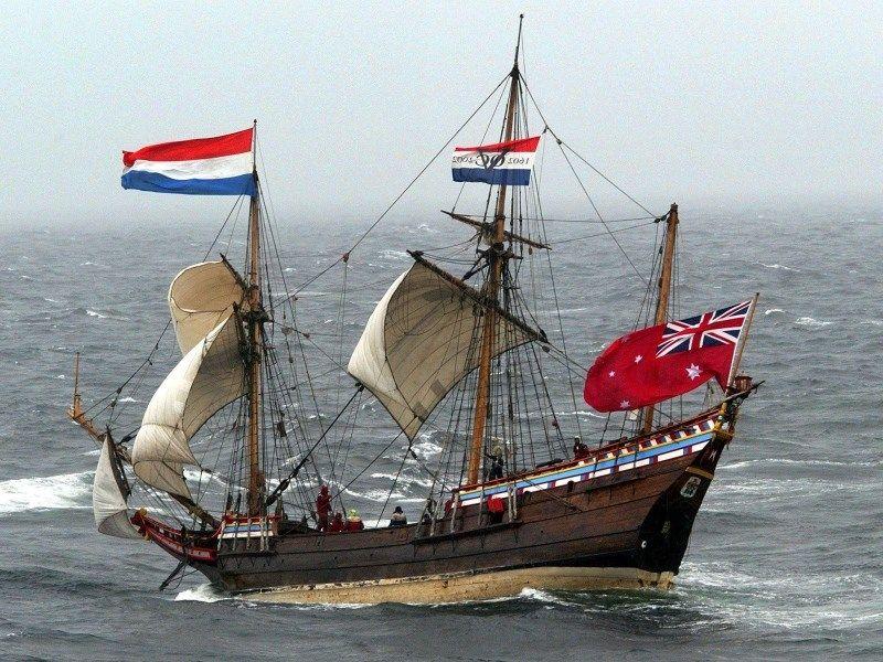 Model Ships   Duyfken   Historic replica dutch   boat ...