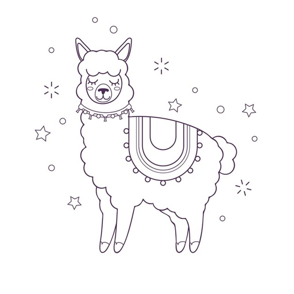 Cute Coloring For Kids With Goat Paid Affiliate