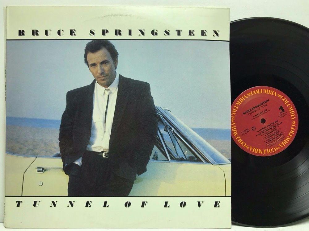 Bruce Springsteen Tunnel Of Love Columbia Original Lp Vinyl Record Album Stores Ebay Com Capcollect Vinyl Records Tunnel Of Love Vinyl Record Album