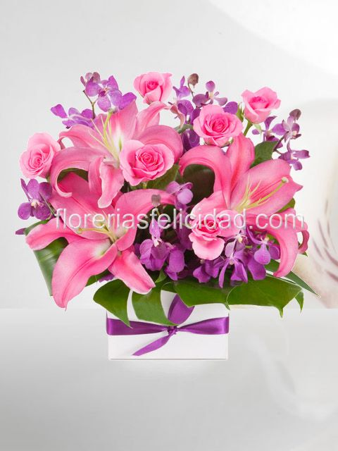 Flores rosas - Florerias en Mexico | Arreglos florales para el dia de la madre | Flores a domicilio df
