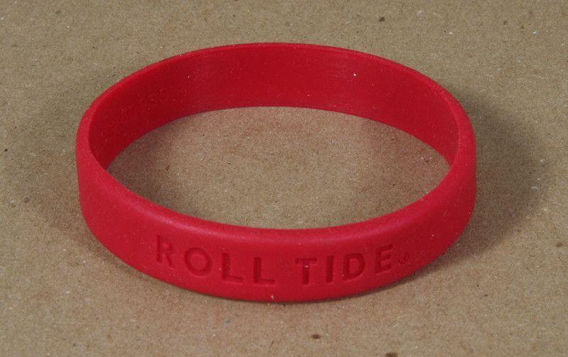 brand new best place new list Bracelet/Wristband Alabama   Alabama Crimson Tide ...