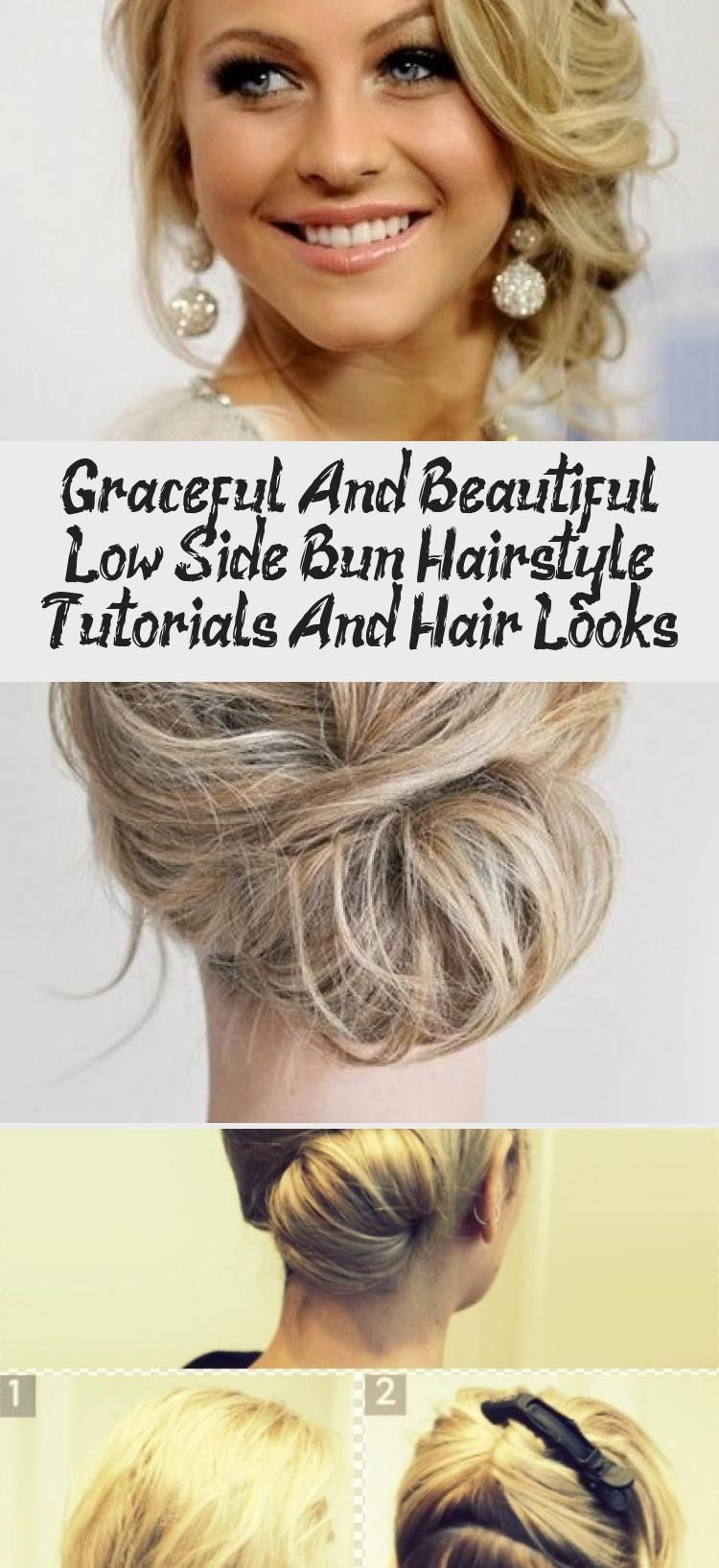 Graceful And Beautiful Low Side Bun Hairstyle Tutorials And Hair Looks #lowsidebuns Graceful Lower Side Bun Hairstyle for Women                                                                                                                                                                                 More #weddinghairsimple #bridesmaidhairVideos #bridesmaidhairAfricanAmerican #bridesmaidhair2018 #bridesmaidhairMediumLength #bridesmaidhairTutorial #lowsidebuns