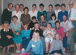 Hubert Ryburn and Descendants, 1986
