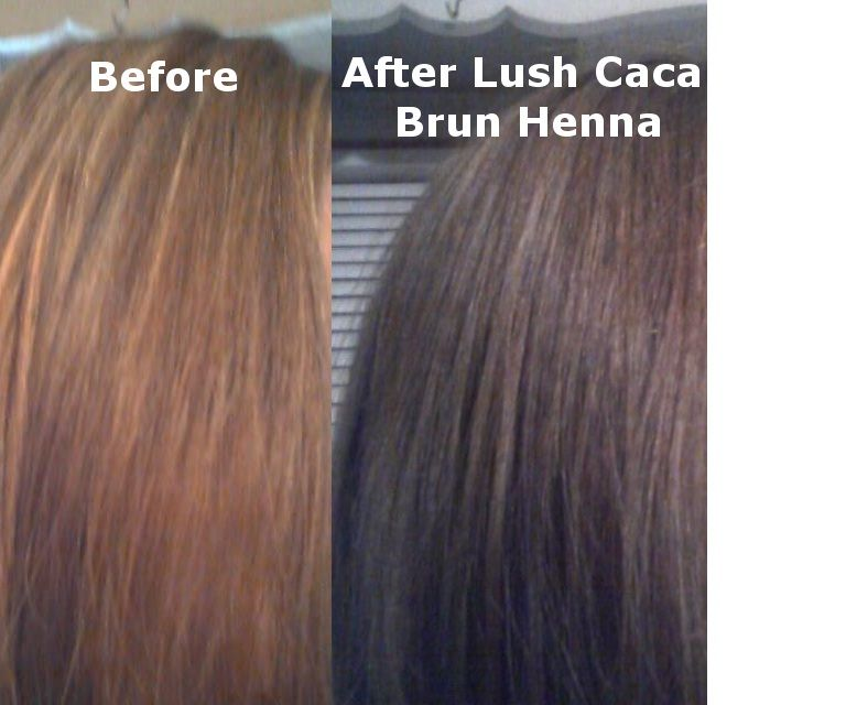Lush Caca Brun Henna I 3 The Way My Hair Turned Out Hair