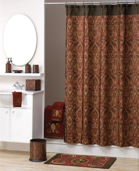 Elegant Shower Curtain elegant shower curtains | elegant persia fabric shower curtain
