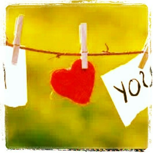 I love you.  ...& YOU know who YOU are!  (wink)