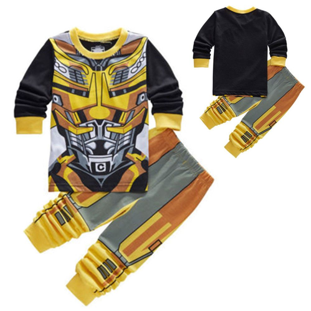Boys Pyjamas Transformers Bumblebee Pyjamas