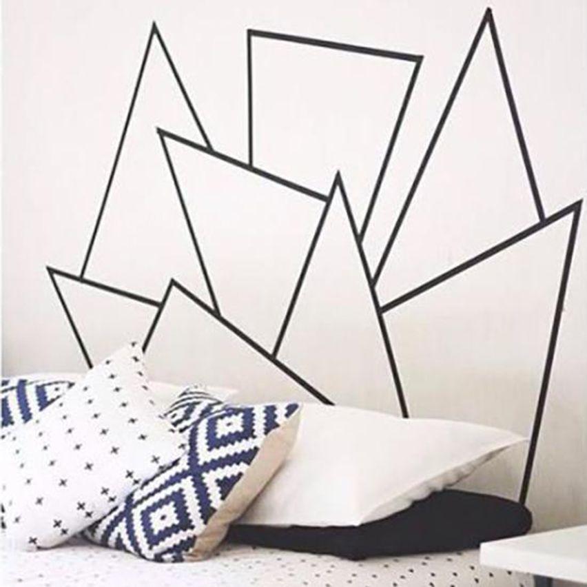 pinterest 8 id es pour se fabriquer une t te de lit. Black Bedroom Furniture Sets. Home Design Ideas
