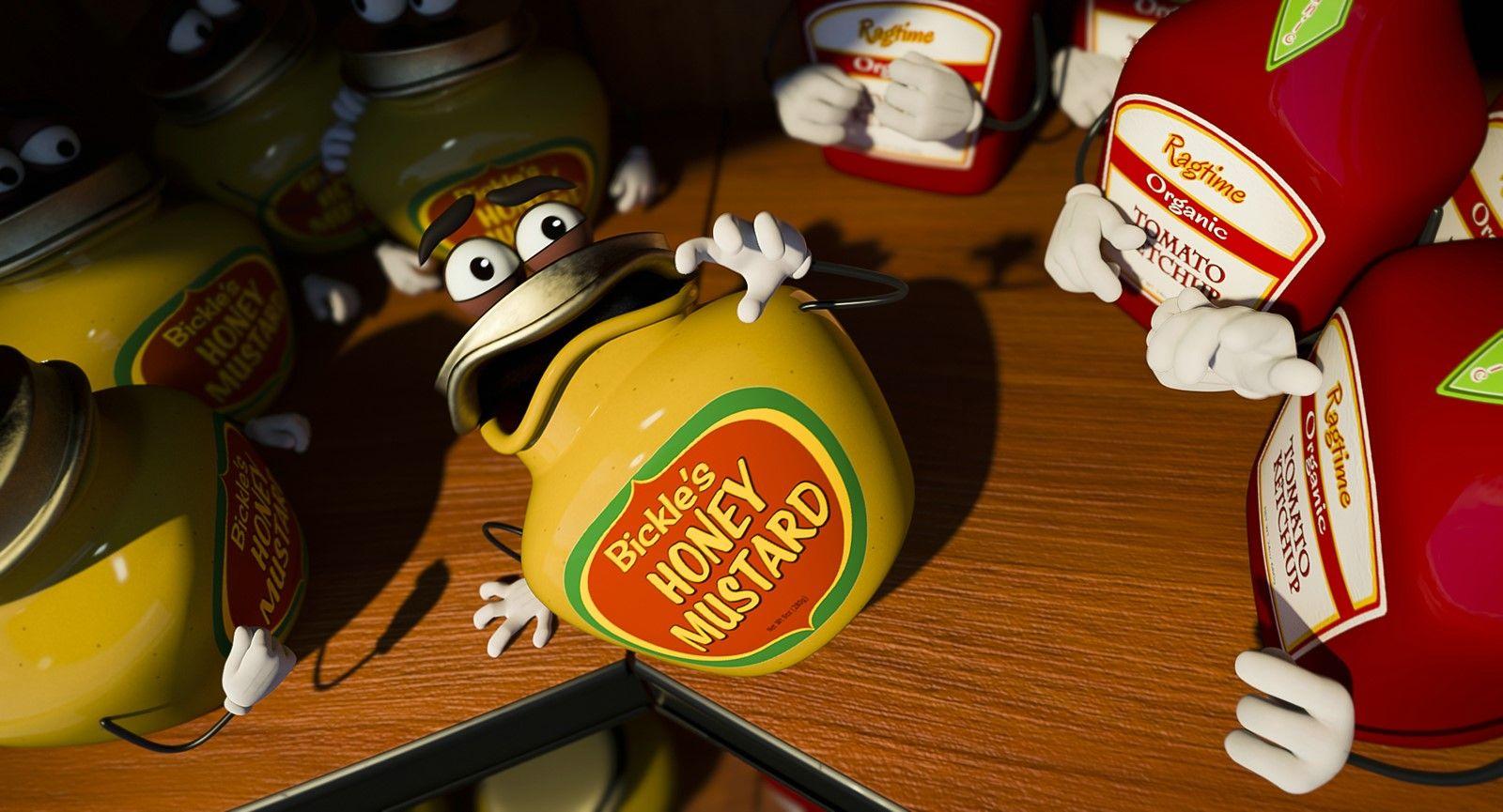 Descargar La Fiesta De Las Salchichas Sausage Party Mega 1 Link Sausage Party Honey Mustard Party Poster