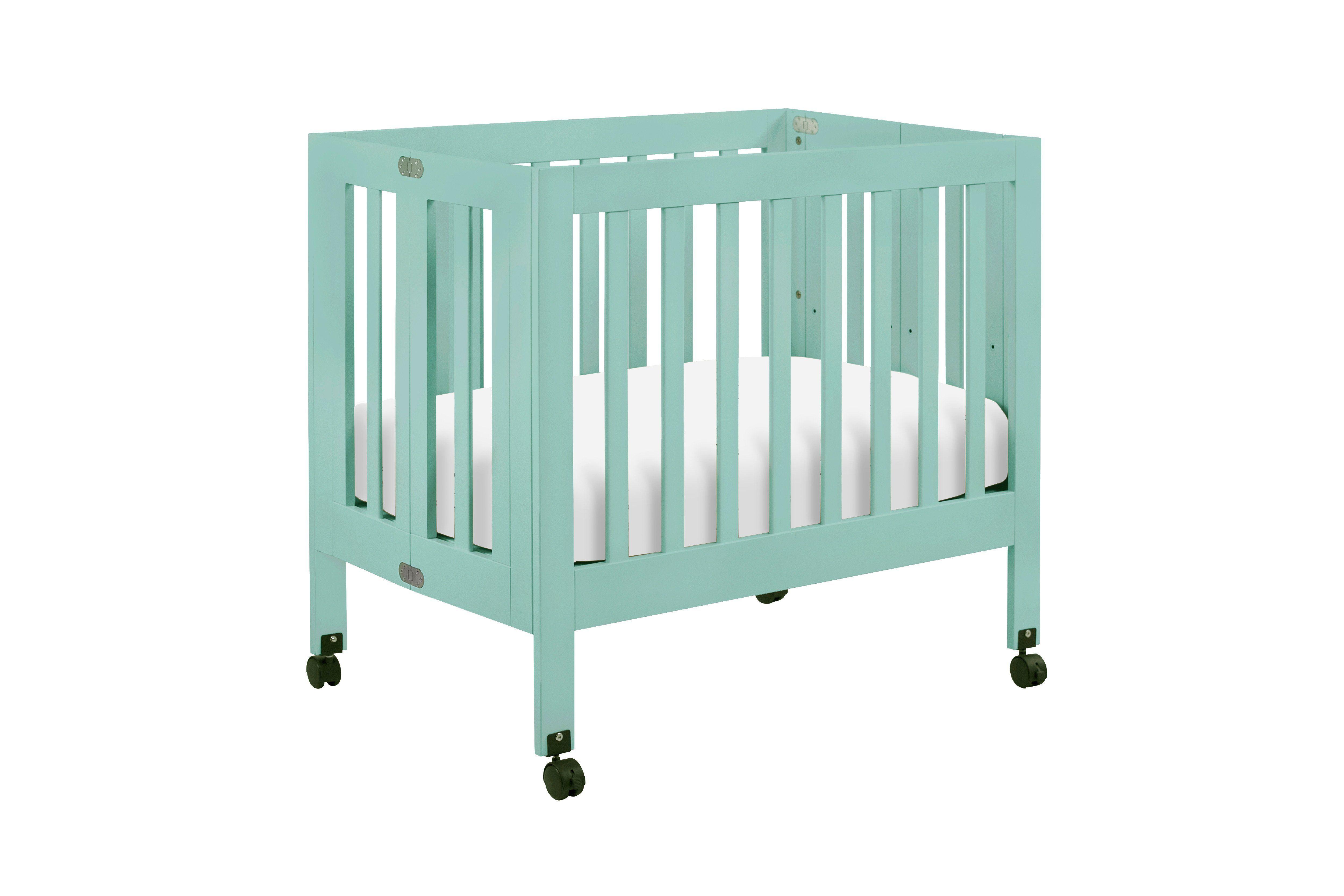 Origami Mini Crib   Mini crib, Portable crib, Cribs for ...