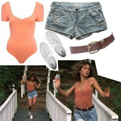 love this outfit from dirty dancing summerstyle dirty dancing party pinterest kost m. Black Bedroom Furniture Sets. Home Design Ideas