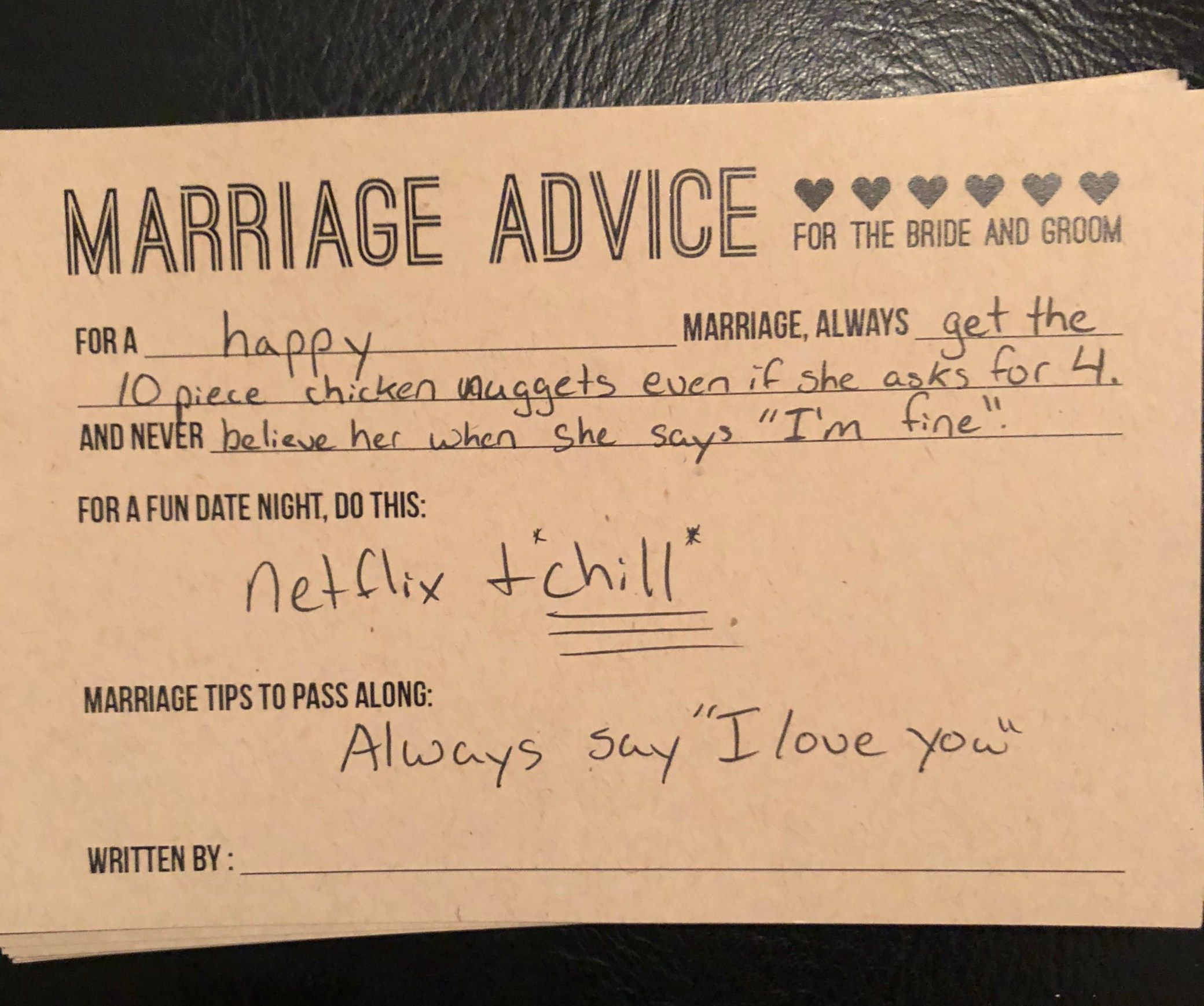 14 Pieces of Marriage Advice We Got Before Our Wedding