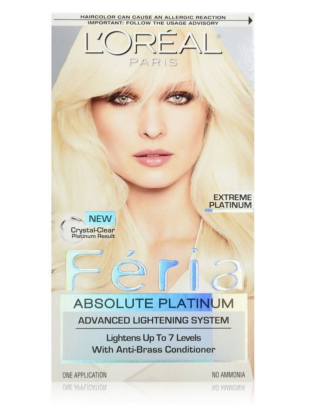Loreal Feria Absolute Platinums Hair Color Extreme Platinum 1 Ea
