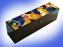 Image result for painted boxes