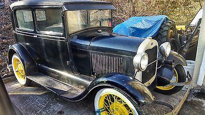 Ford Model A NONE 1929 FORD MODEL SEDAN REAL NORTH CAROLINA BARN FIND IT