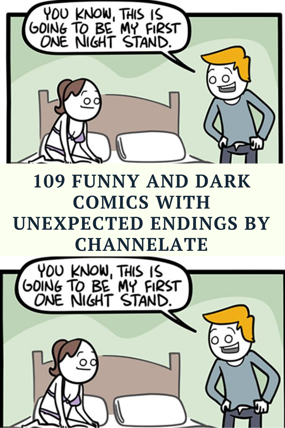 109 Funny And Dark Comics With Unexpected Endings By Channelate Extremely Funny Memes Funny Life Hacks Humor Inappropriate