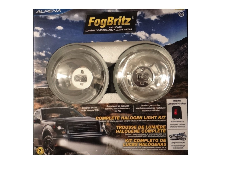 Alpena FogBritz Halogen Fog Lights 12v / (2) 55W (71169 ...