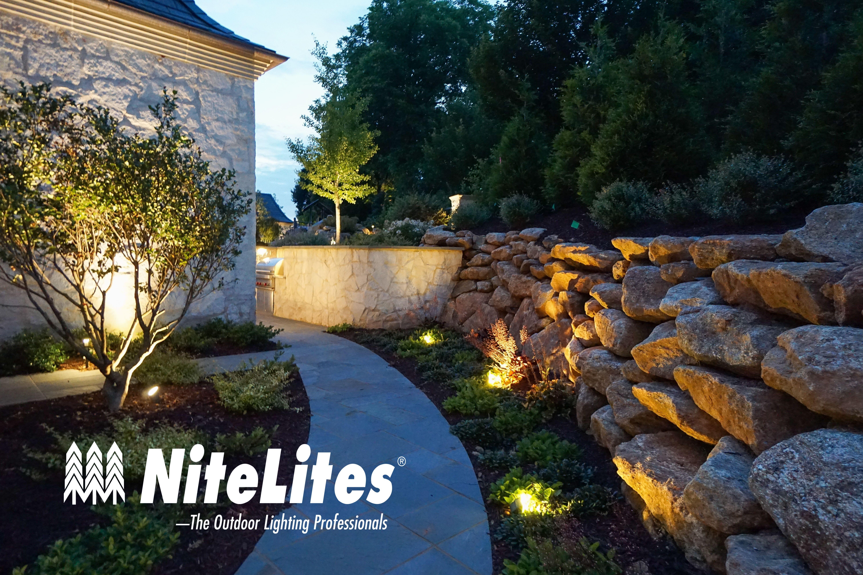 Uplighting And Wash Lighting By Nitelites Of Greenville Outdoor Lighting Landscape Lighting Backyard Lighting