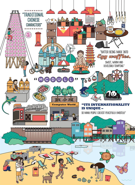 Illustration 200 Reasons To Love Hong Kong Yang Hong