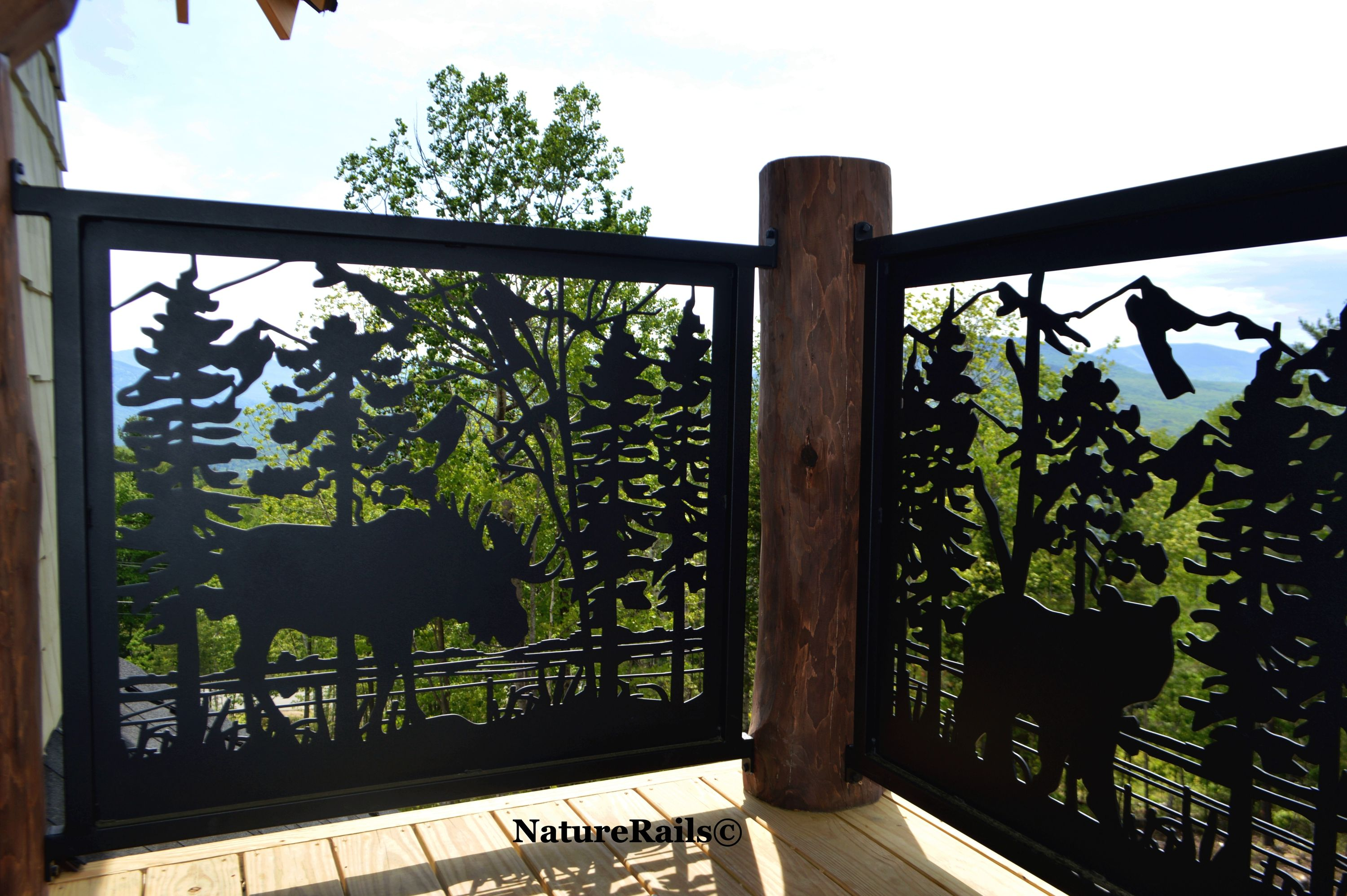 Deck Loft Balcony Railing Railings Outdoor Railing Metal