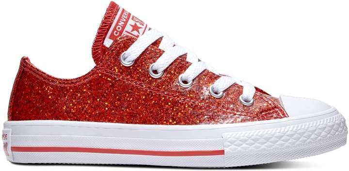 41d43f7467e9 Converse Girls  Chuck Taylor All Star Encapsulated Glitter Sneakers ...