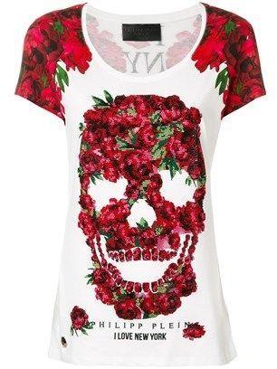 480894e5ff9 Philipp Plein Women's White Cotton T-shirt. | Products | White ...