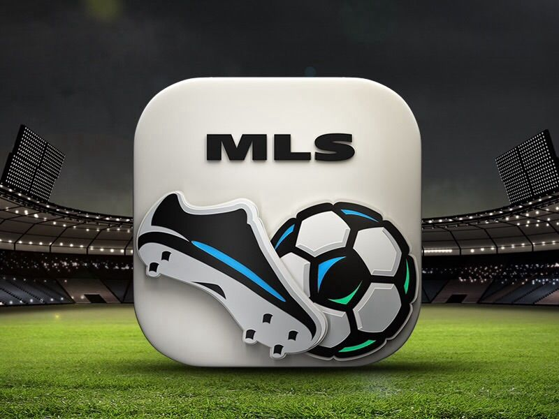 Major League Soccer icon Major league soccer, Ios app