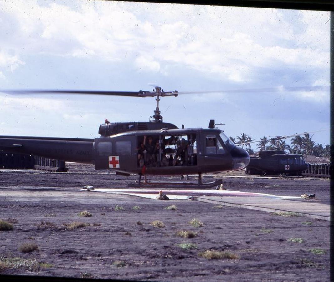Casulities To 91st Evac Hospital Tuy Hoa 1968