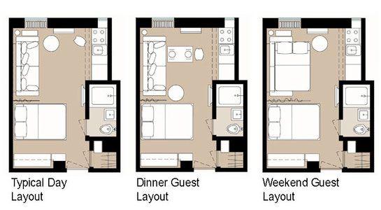 5 Smart Studio Apartment Layouts  NYC Small Apartment
