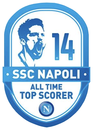 Napoli 2019 20 Special Patch All Time Top Scorer In 2020 All About Time Napoli Dries Mertens