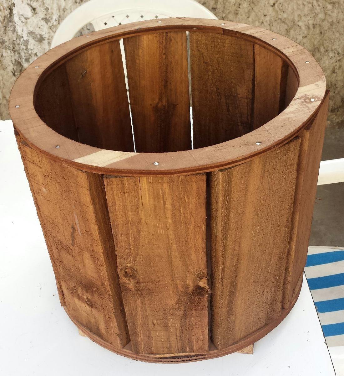 Maceteros de madera reciclable ideas para el hogar - Maceteros de madera ...