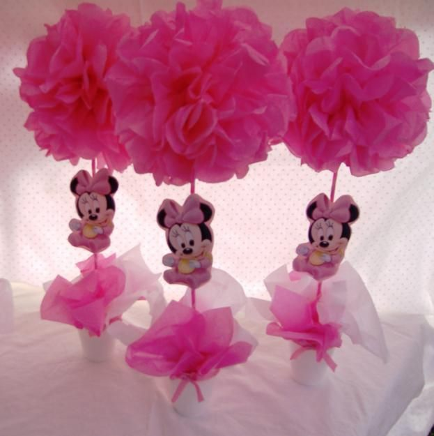 Fotos de centros de mesa para cumpleaños infantiles mini - Imagui