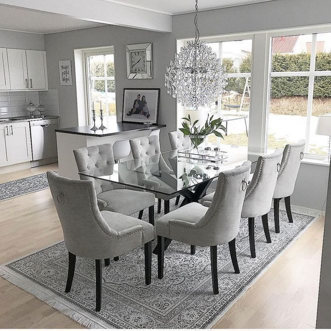 30 The Most Ignored Solution For Dining Room Table Centerpiece Ideas Modern 197 Homecenterrealty Com Elegant Dining Room Luxury Dining Room Interior Design Living Room