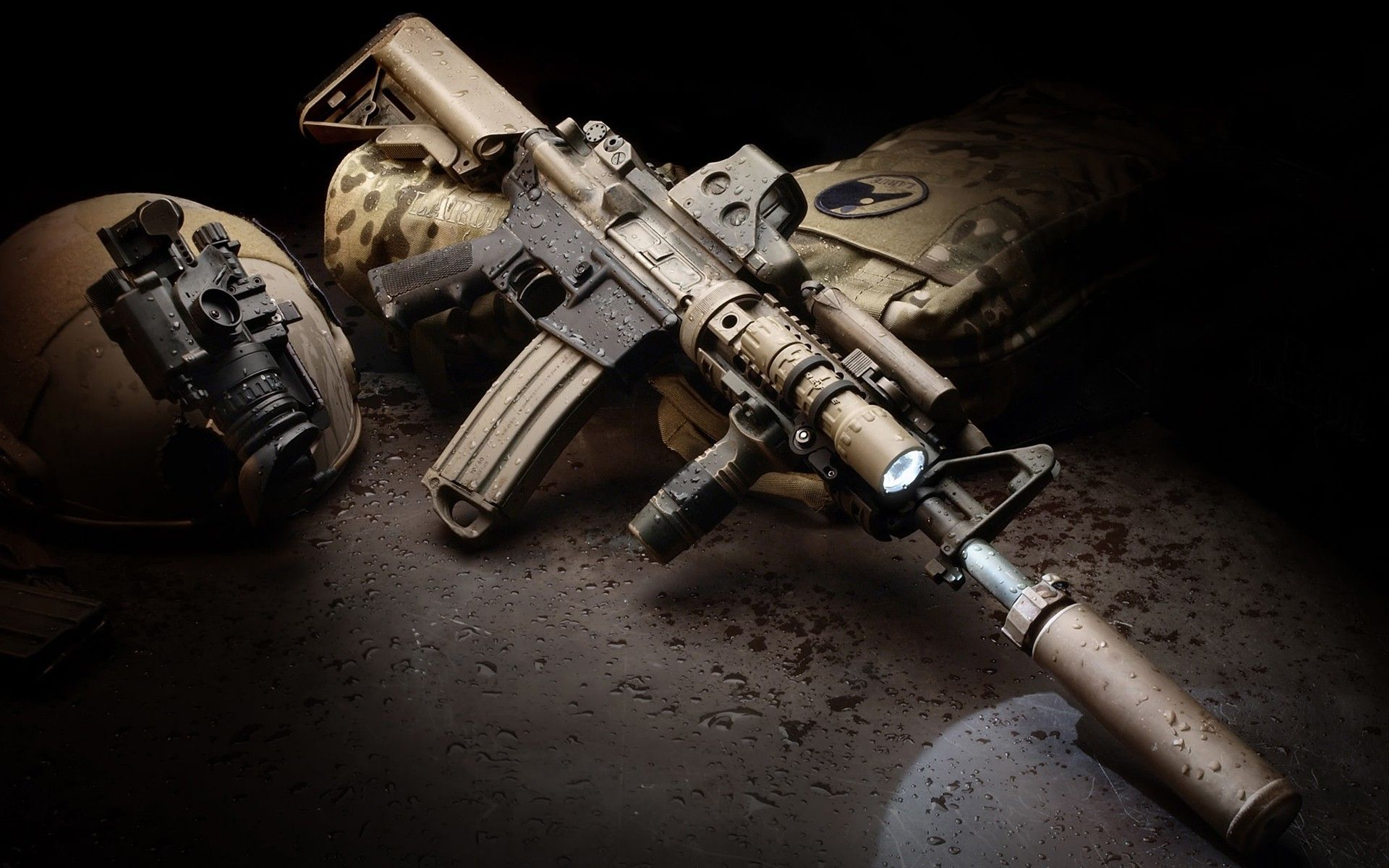 Gold Guns Wallpaper High Definition GYp