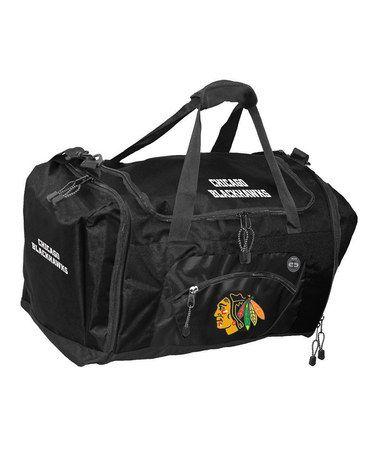 Look what I found on #zulily! Chicago Blackhawks Roadblock Duffel Bag #zulilyfinds