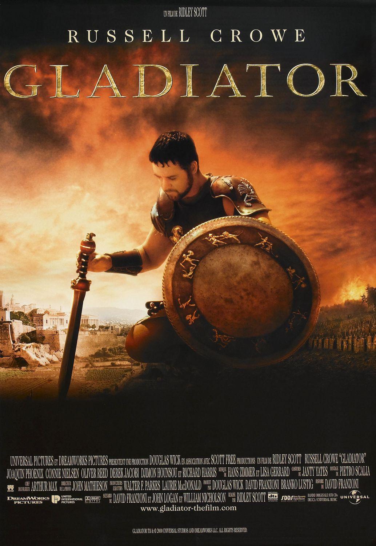 cartel de la pelicula gladiator
