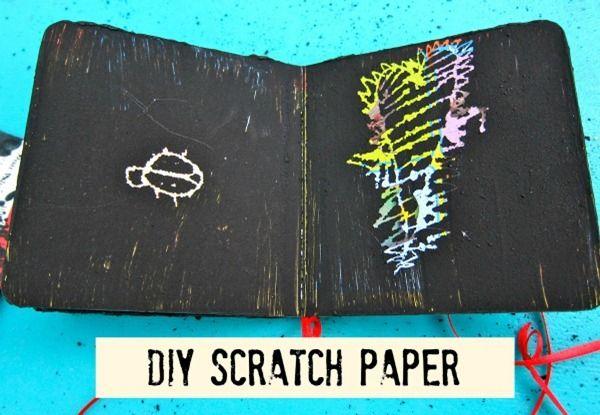 DIY Scratch Paper by Morena's Corner