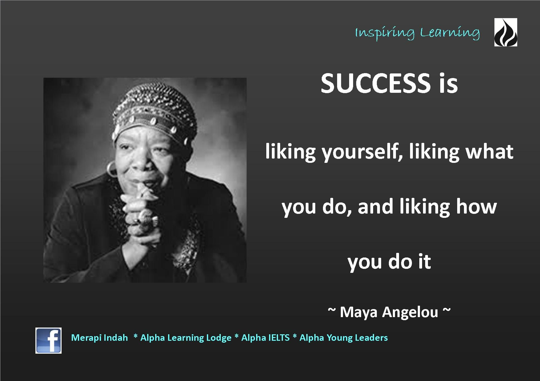 Famous Leadership Quotes Quote  Maya Angelou  Maya Angelou Inspirational And Social