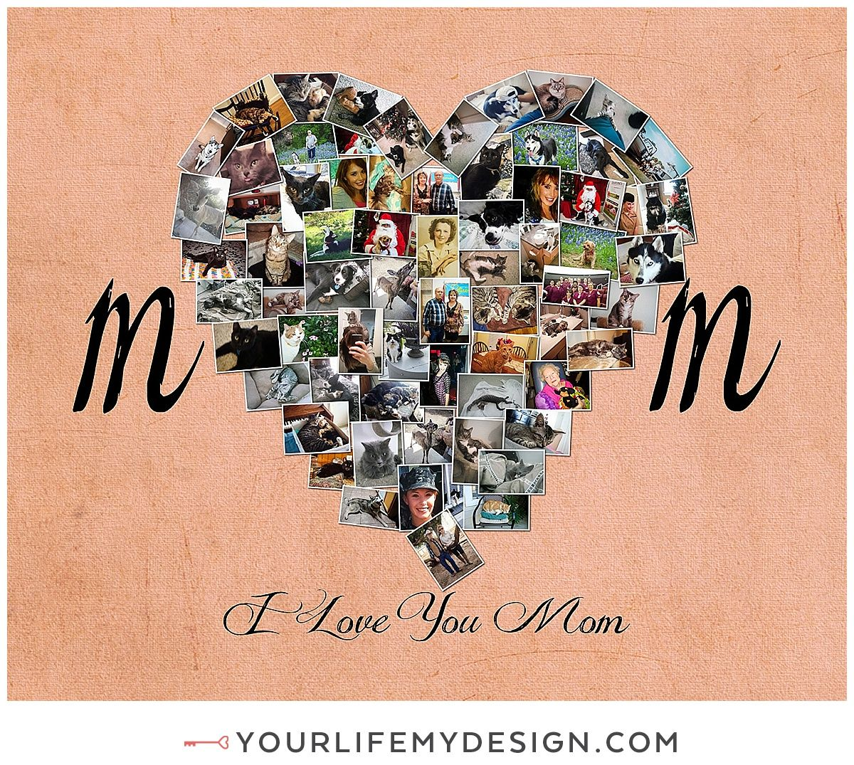 First My Mom Forever My Best Friend Gift Mom Photo Gift Mom Etsy In 2020 Valentine Gifts For Mom Heart Photo Collage Mom Birthday Gift