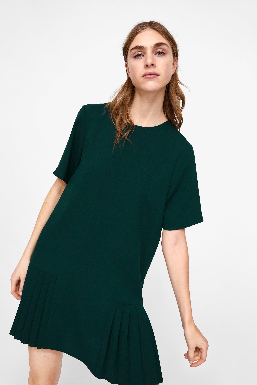 c8c841b86c1 Image 2 of PLEATED DRESS from Zara Wish