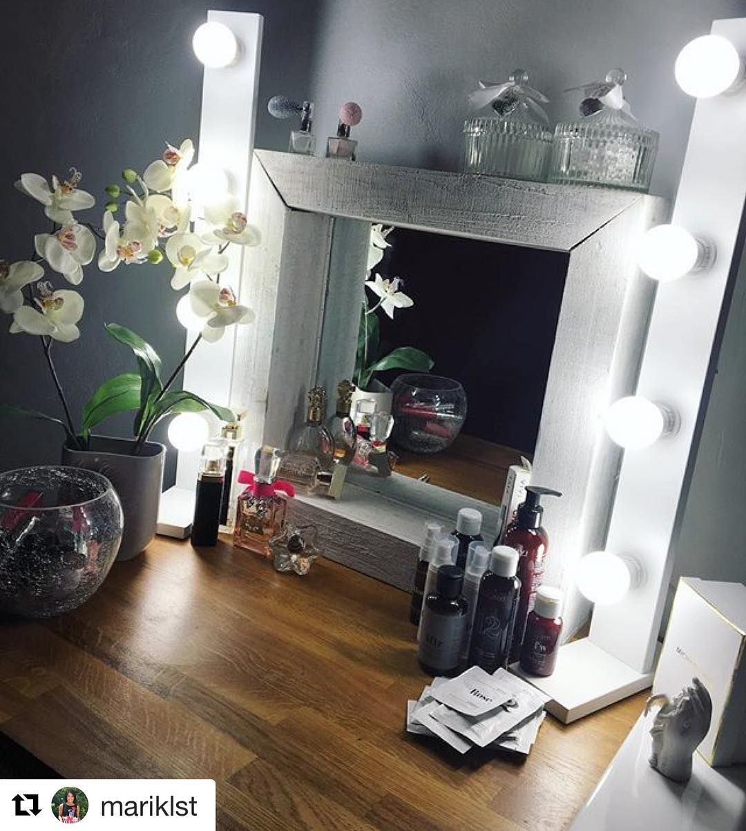 Unsere Fortschrittlichsten Lampen Das Beste Kosmetik Licht Wie Im Schonheitssalon Theater Spiegel Beleuchtet Hollywood Mirror Top Beauty Products Light Makeup