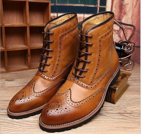 Projects to try | Mens boots casual, Leather oxfords, Wingtip boots