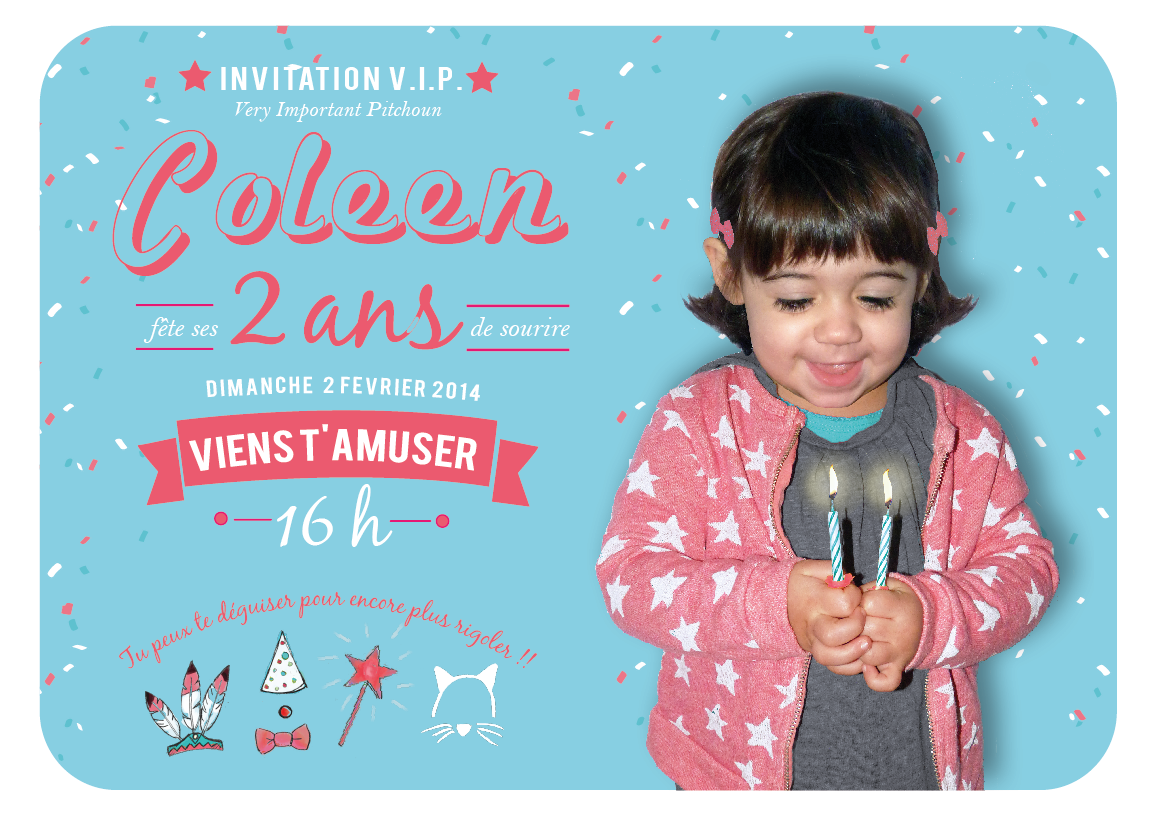 Carte D Invitation Gouter D Anniversaire 2 Ans Invitations Book Cover Bday